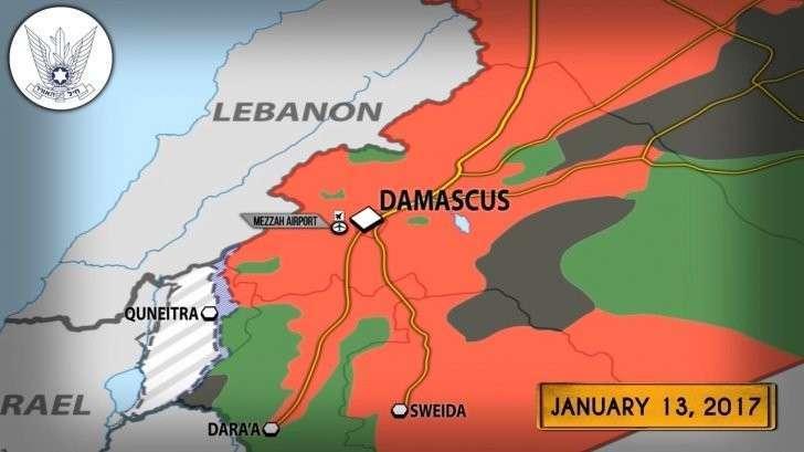 Военная обстановка в Сирии: кровавый Израиль разбомбил склады армии Башара Асада