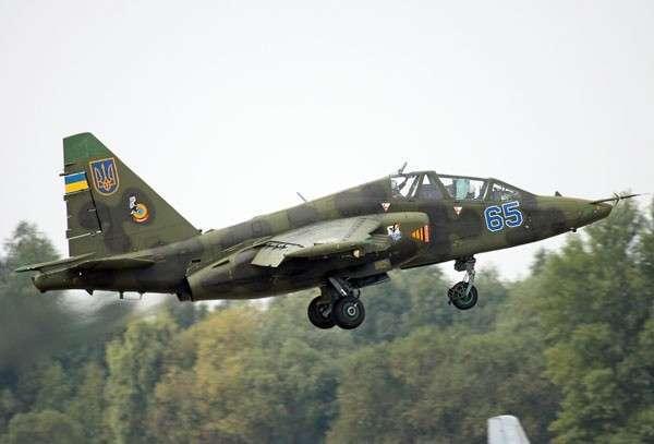Главком ВВС: Украина могла тайно получить Су-25 от третьей страны