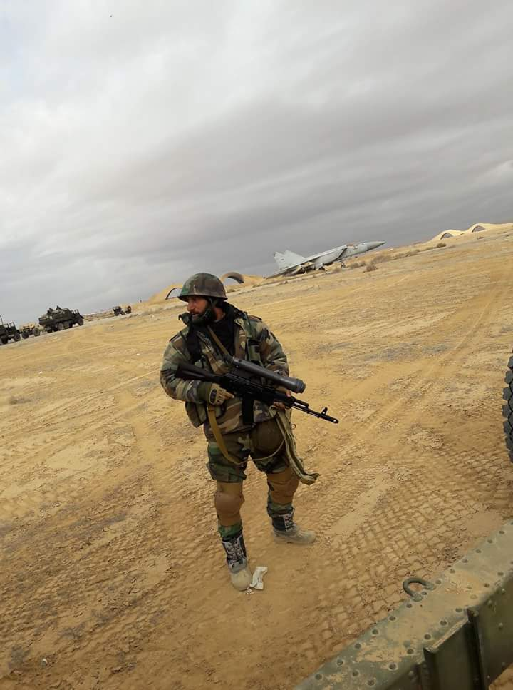 Военная обстановка в Сирии: Дожимают Вади Барада, готовятся к броску на Пальмиру