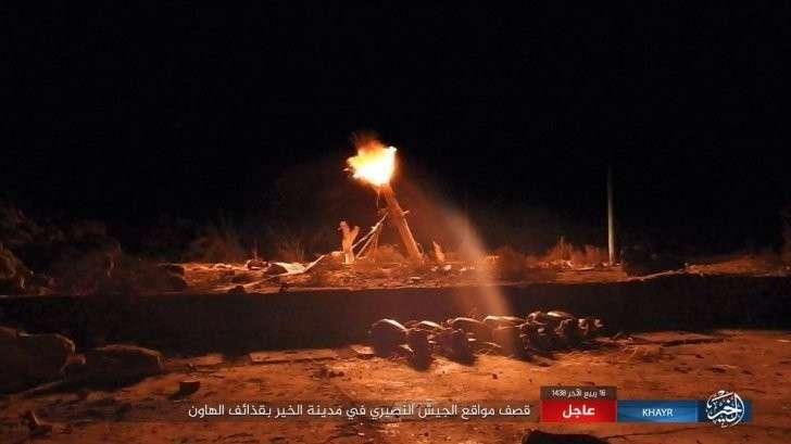 Военная обстановка в Сирии: ИГИЛ атакует анклав Башара Асада в Дейр-эз-Зоре