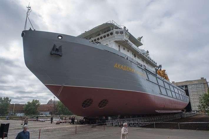 Выведен из цеха морской транспорт вооружения «Академик Ковалёв»