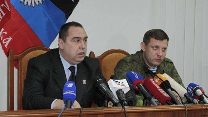 Главы ДНР и ЛНР приехали в Крым