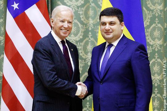 Джо Байден приезжал в Киев «подчищать концы» за сыном