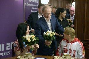 Владимир Путин встретился с представительницами паралимпийской сборной России и волонтёрами