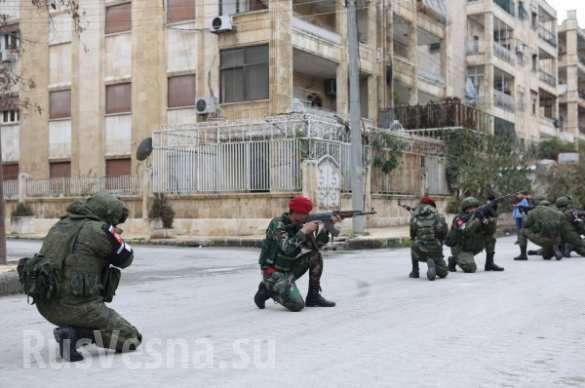 В Алеппо российские военные учат сирийцев тактике боя в городе | Русская весна