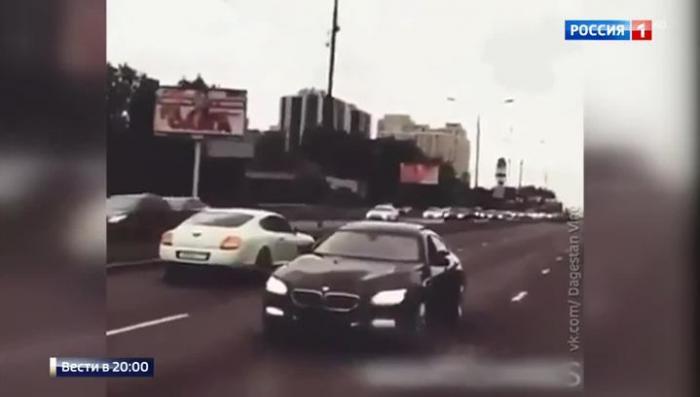 Очередные гонки золотой молодежи по Москве: теперь задним ходом по встречке