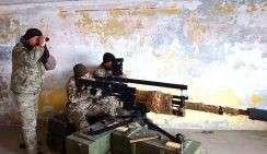 Украинские киборги берут в руки зенитные пушки