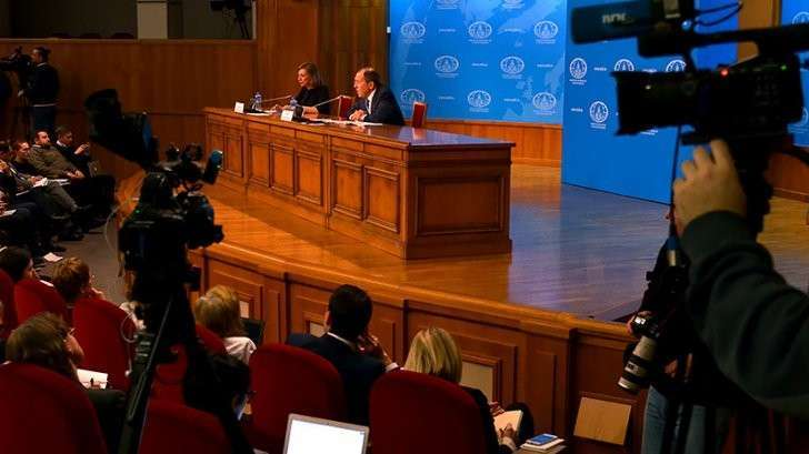 Вербовка дипломатов и «гадости из Вашингтона»: о чём говорил Лавров на пресс-конференции