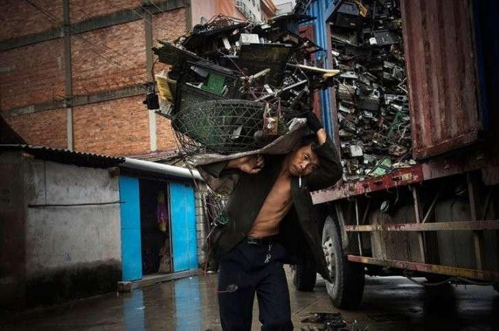 Азию накрывает лавина электронных отходов