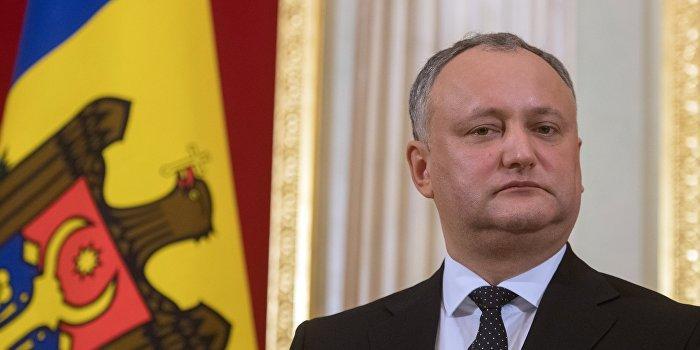 Президент Молдавии Игорь Додон заявил о возможном аннулировании соглашении об ассоциации с ЕС