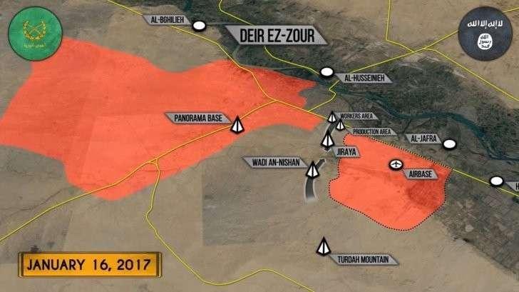 Военная обстановка в Сирии: Закрепление ИГИЛ в Дейр-эз-Зоре