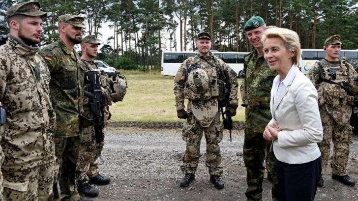 в немецкой армии ввели новые занятия