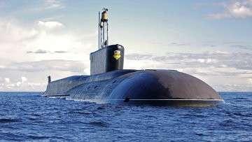 Стратегическая атомная подводная лодка (проект 955 Борей) Александр Невский. Архивное фото.