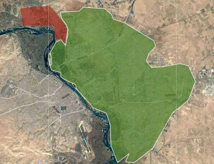 Военная обстановка в Ираке: Освобождение восточного Мосула
