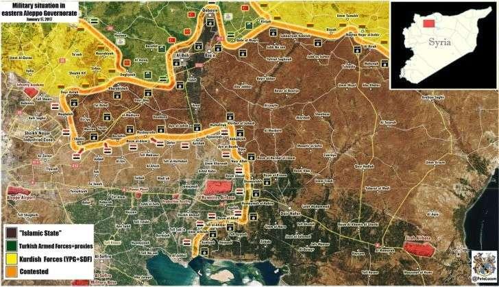 Критическая ситуация в Дейр эз Зор, продвижение в Алеппо и Т4