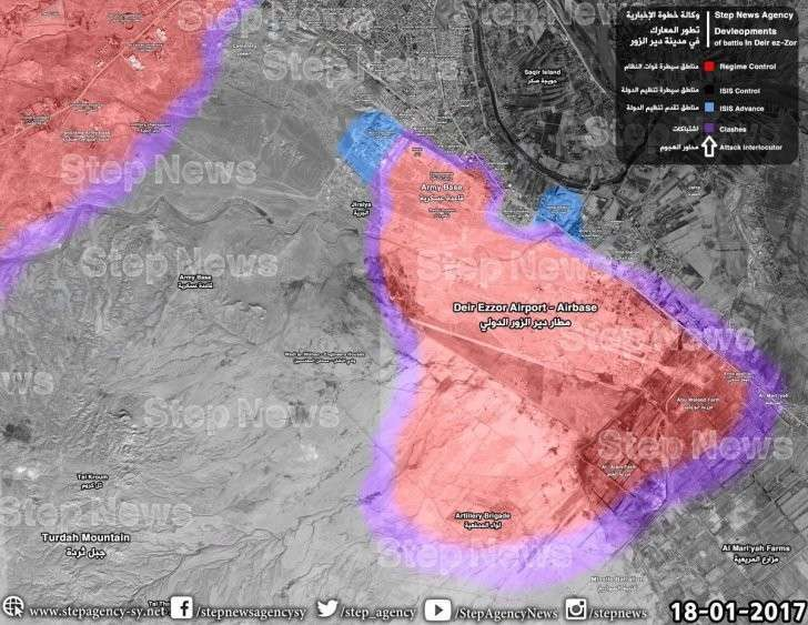 Военная обстановка в Сирии: Дейр-эз-Зор пока держится, равновесие у Аль Баба