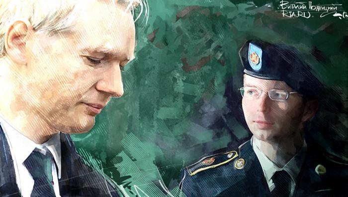 Педик Бредли Мэннинг помилован Бараком Обамой, натуралу Джулиану Ассанжу ничего не светит