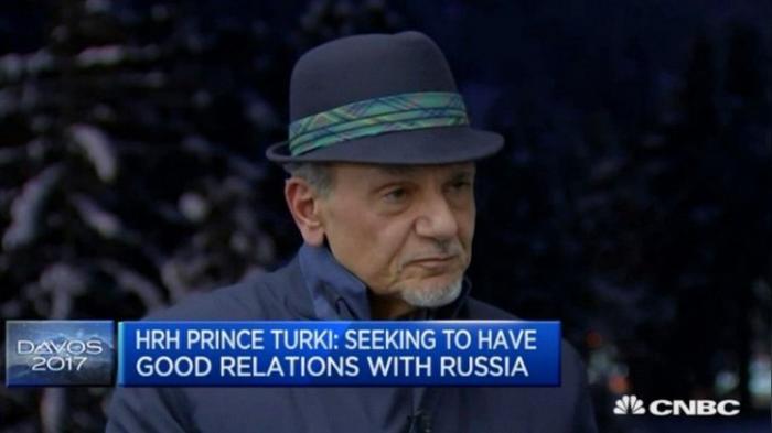 Россия — важный игрок, и с ней надо сотрудничать - Саудовский Принц