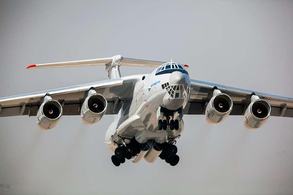 Модернизированное шасси позволило увеличить грузоподъемность Ил-76МД-90А до 60 тонн