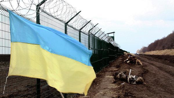 У Киева не хватило денег, чтобы достроить «Стену» на границе с Россией