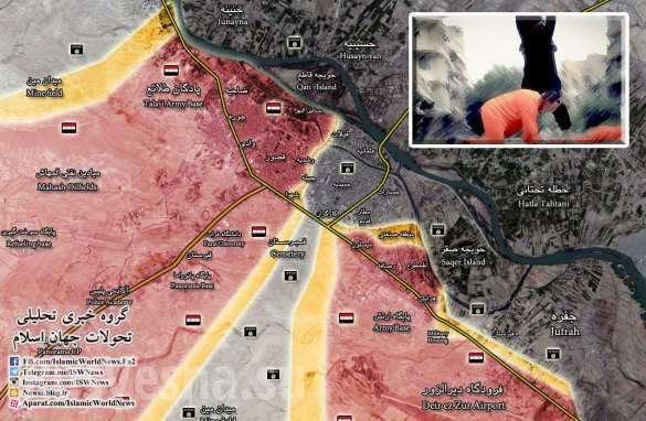 ВКС России наносят град ударов по ИГИЛ, а Армия Сирии контратакует в Дейр Зор | Русская весна