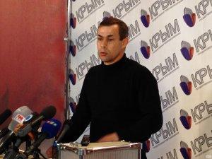 Пресс-конференция командира симферопольского Беркута о противостоянии на Майдане