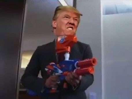 Трамп расстрелял Белый дом: опубликован ролик о первом дне нового президента США