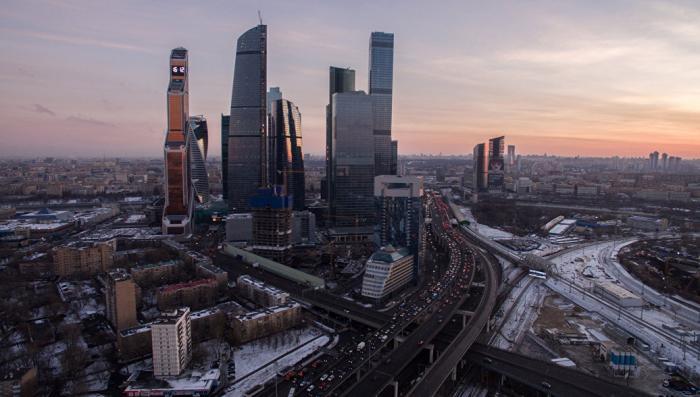 Самый высокий лифт в Европе высотой 365 метров, заработал в «Москва-сити»