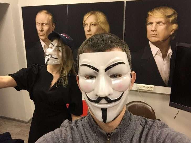 В Москве красиво отпраздновали инаугурацию Трампа, WP