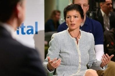 Сара Вагенкнехт: лицемерный немецкий истеблишмент, прислушайся к Трампу