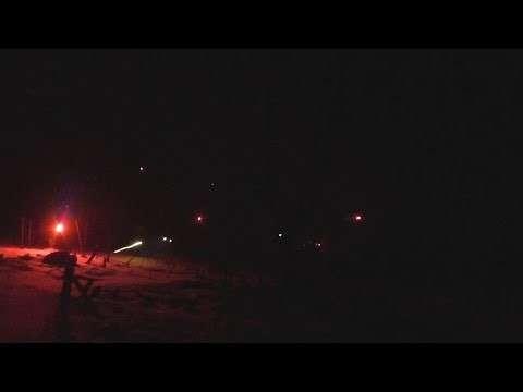 Ночные бои под Донецком в промзоне Авдеевки