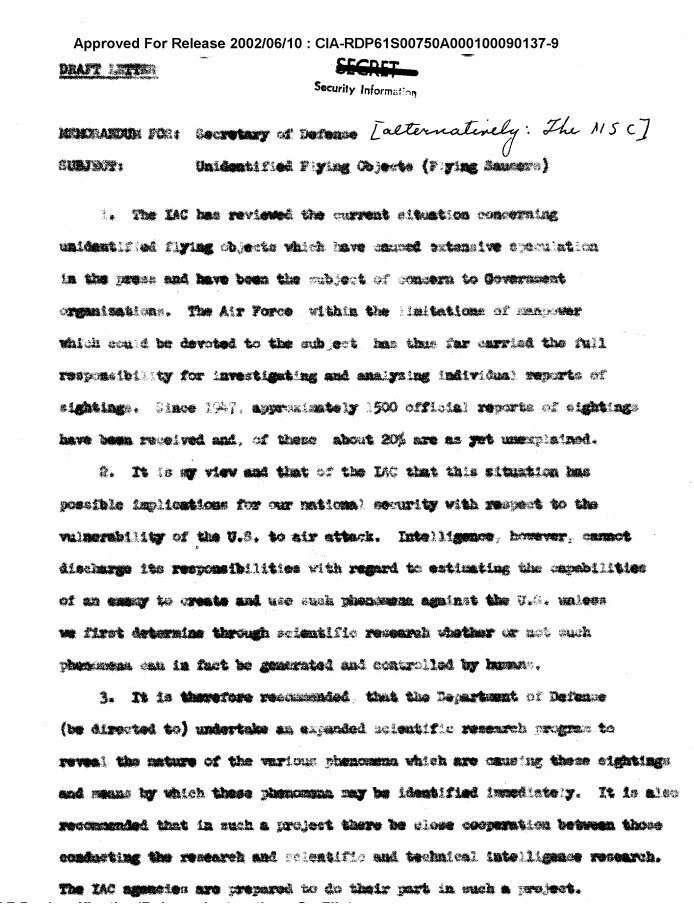 НЛО и сверхъестественные возможности человека: о чём рассказали рассекреченные архивы ЦРУ