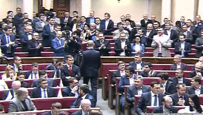 Законопроект о тотальной украинизации зарегистрирован в Верховной раде Украины