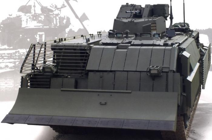 Т-15 БРЭМ и Т-16 БМП - новинки созданные на базе платформы «Армата»