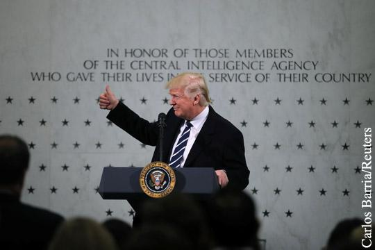 Дональд Трамп рискует стать президентом, зависимым от ЦРУ. Если не поставит их под жестокий контроль