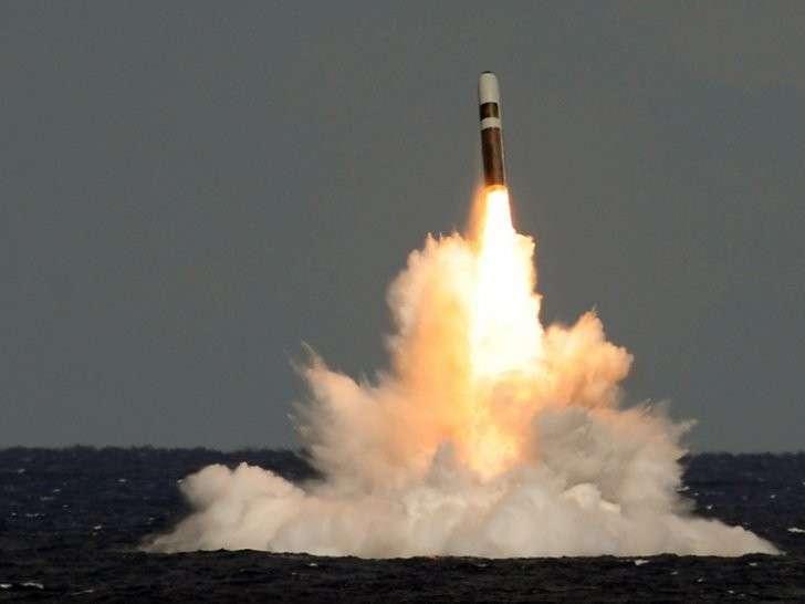 В Великобритании власти скрывали провальный пуск баллистической ракеты