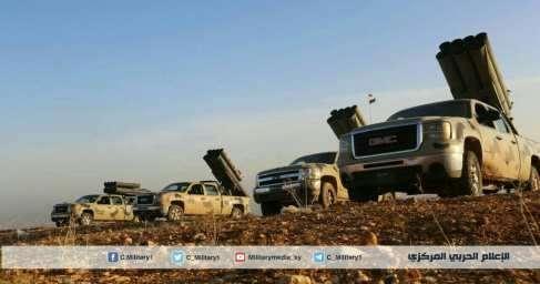 Военная обстановка в Сирии: Котел под Дамаском почти зачищен