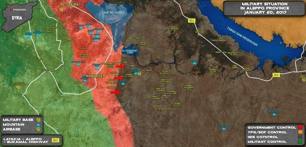 Война в Сирии: Горящий Т-90 в районе Ханассера