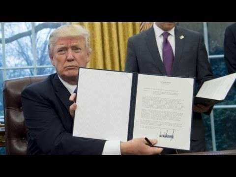 США выходит из ТТП: либералы всего мира в ужасе от Дональда Трампа