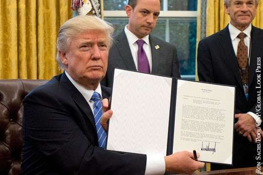 Решение Дональда Трампа о выходе из ТТП будет иметь глобальные последствия