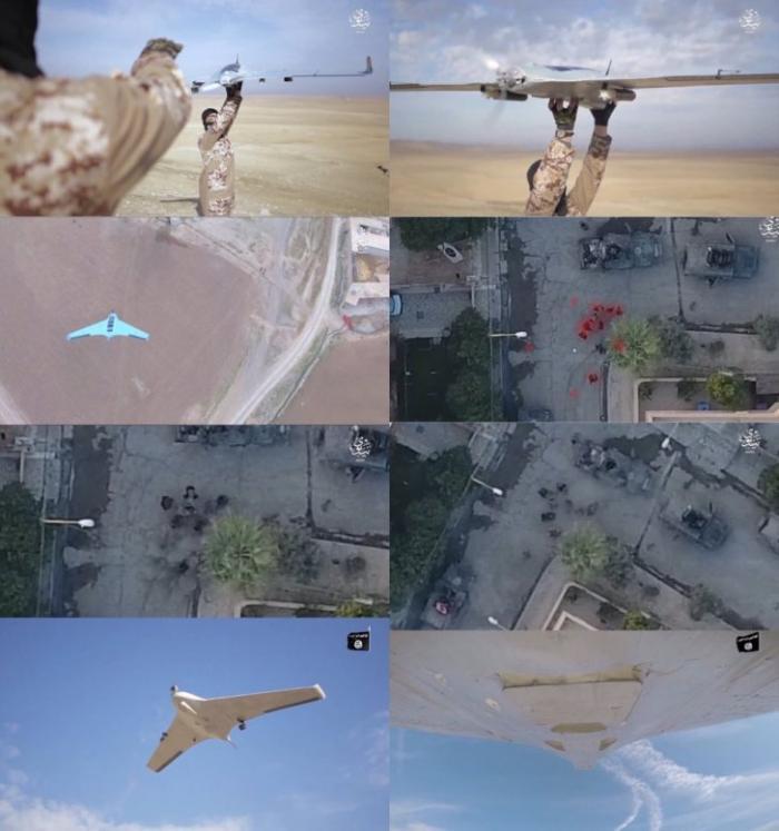Война в Ираке: Боевые дроны-бомбардировщики Халифата