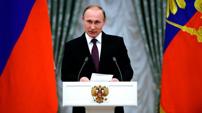 Президент Владимир Путин вручает госнаграды в Кремле