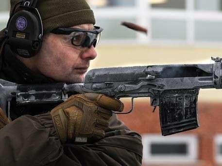 СВД стреляет и при –50 °C! Кадры испытаний замороженной винтовки