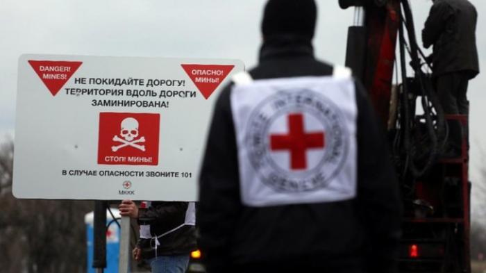 ДНР: Красный Крест сообщает, что «Люди в Донбассе спят в бомбоубежищах»
