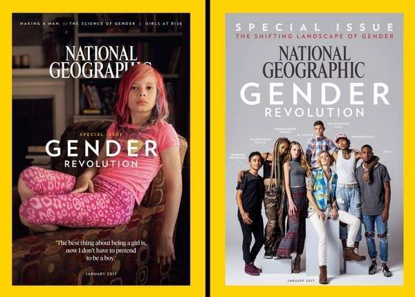 zhurnal national geographic 1 Январский номер журнала National Geographic пропагандирует «гендерную революцию»