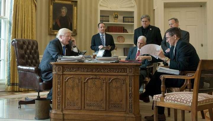 Владимир Путин и Дональд Трамп общались по телефону в течение 45 минут