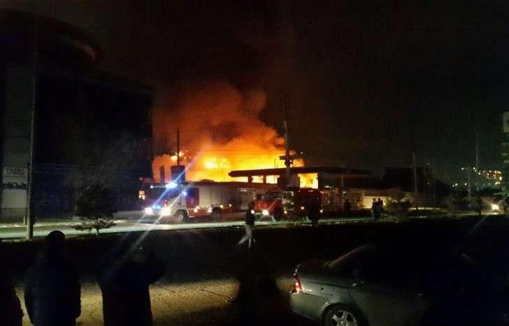 Взрыв заправки ПАЛЬМИРА в Махачкале не случайность