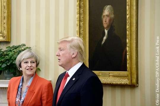 Первую встречу с Дональдом Трампом нельзя назвать успешной для британки Мэй