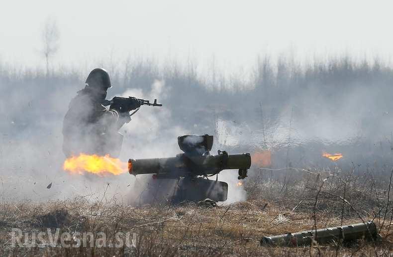 Мощные предрассветные бои на Ясиноватском направлении, Донбасс