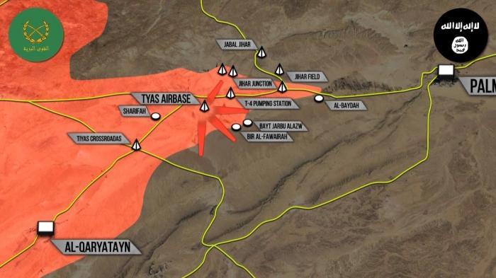 Военная обстановка в Сирии: Успехи под Пальмирой. Дональд Трамп создает безопасные зоны в Сирии